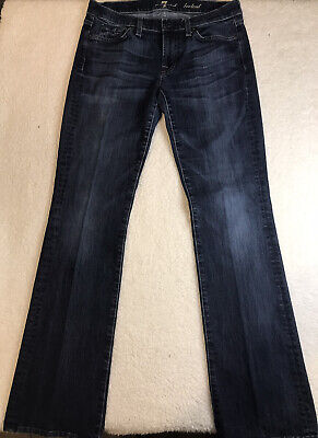 Womens Seven 7 For All Mankind Denim Bootcut Jeans Size 29