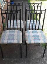 Sturdy dining chairs x4 Elderslie Camden Area Preview