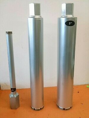 1 - 2 - 3 Combo 3pcs Wet Diamond Core Drill Bit Set