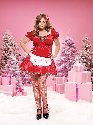 Leg Avenue 83470X 'Candy Cane Cutie' Christmas costume xmas - 1X-2X Candy Cane Cutie Costume