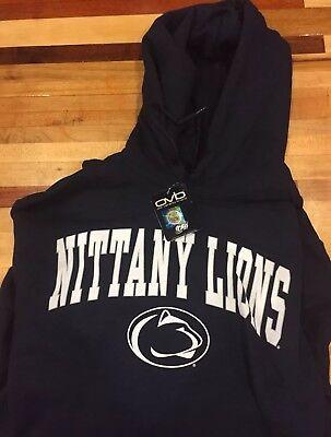 Penn State nittany lions pullover Hoodie dark blue NWT sweatshirt size M ()