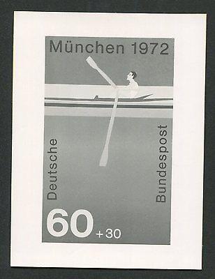 BUND FOTO-ESSAY OLYMPIA 1972 RUDERN OLYMPICS PHOTO-ESSAY PROOF e220