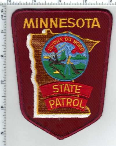 State Patrol (Minnesota) 2nd Issue Shoulder Patch