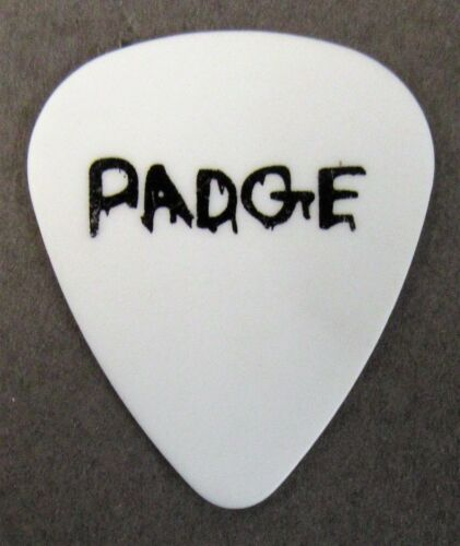 "BULLET FOR MY VALENTINE Michael ""Padge"" Paget 2010 tour Signature Guitar Pick"