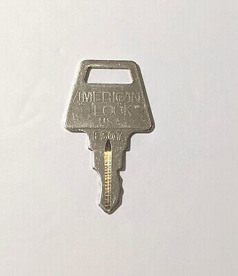 American Lock Padlock Authentic E507 Key Replacement