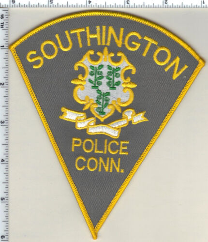 Southington Police (Connecticut) Shoulder Patch - new from 1989