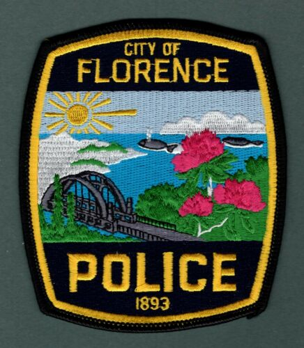 Florence Oregon Police Patch