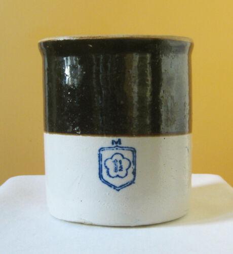 Antique McCoy Crock RARE 1-1/2 Gallon Stoneware Pottery Country Kitchen
