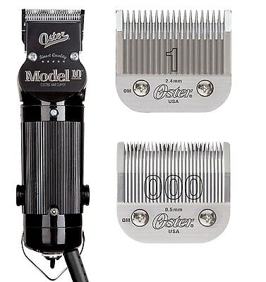 Kasama sa Oster Model 10 hair Clipper Salon Barber Beauty Classic #1 & 000 Blades kasama
