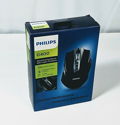 Philips G400 wired Gaming Mouse With Haptic Feedback