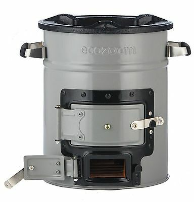 EcoZoom Versa Rocket Portable Outdoor Cooking Wood/Charcoal Stove