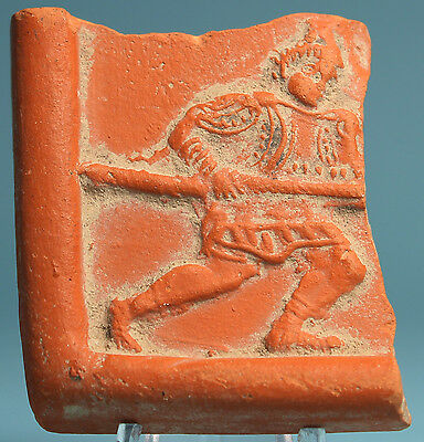 Roman Terra Sigillata Fragment  Venator   Ancient Art   Antiquities