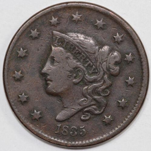 1835 1c Coronet or Matron Head Large Cent