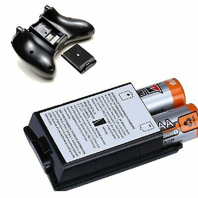 AA Battery Back Cover Case Shell Pack For Xbox 360 Wireless Controller USA Batteries