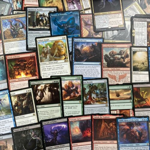 ** 100 Mtg Rares ** Magic The Gathering Card Lot Rares Only Collection (nm/pl)