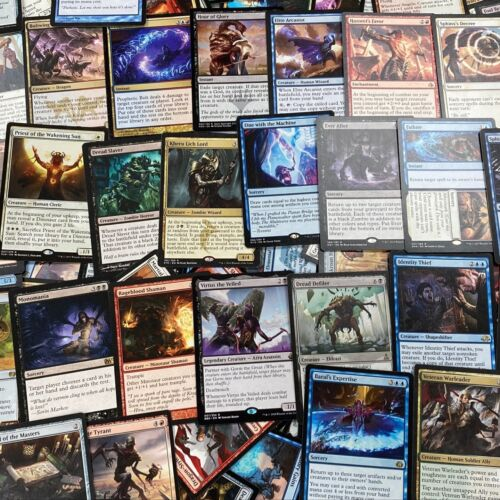 ** 500 Mtg Rares ** Magic The Gathering Card Lot Rares Only Collection (nm/pl)