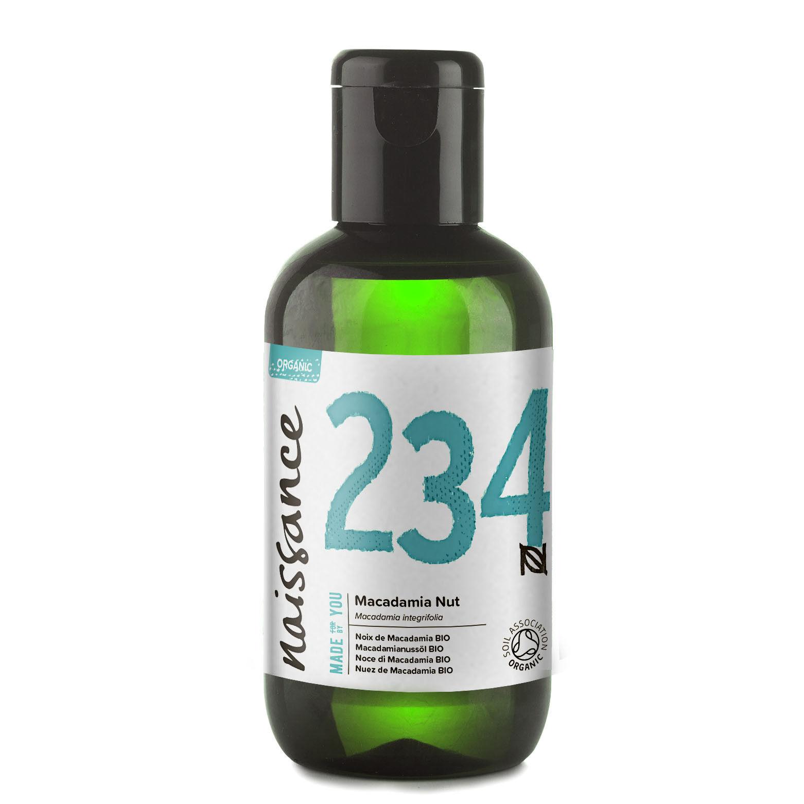 Naissance Huile de Noix de Macadamia BIO - 100ml - 100% pure et naturelle