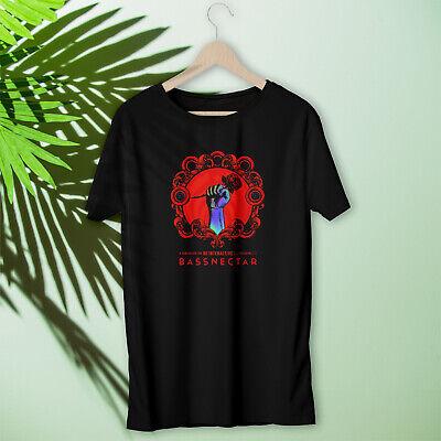 Bassnectar shirt new logo albums 2019 tour concert best seller black cotton