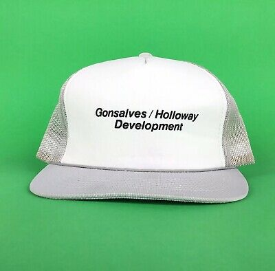 Gonsalves Holloway Development Trucker Hat Cap Snapback Men's Size -