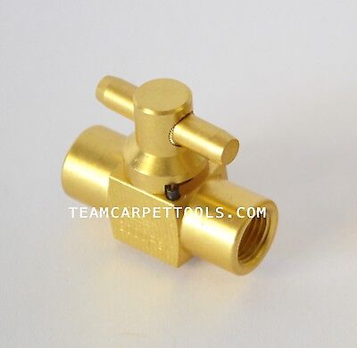 Carpet Cleaning Dam Brass 3000 Psi Shut-off Valve Truckmount Portable F X F