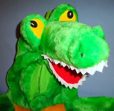 GATOR COSTUME-Child 2-4 FULL BODY ZOO HALLOWEEN SCHOOL PLAY  (Zoo-halloween)