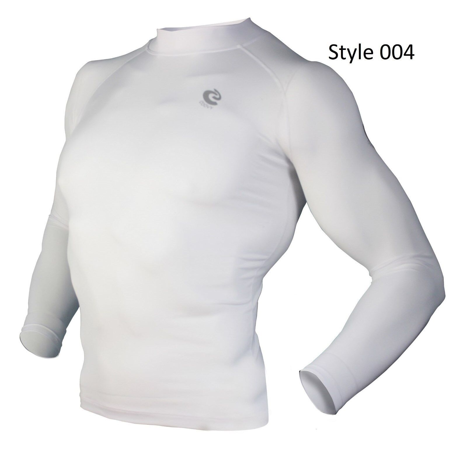 004 White Long Sleeve Shirt