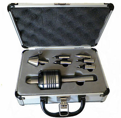 NEW MT2 PRECISION INTERCHANGEABLE LIVE CENTER SET MORSE TAPER 2 FOR LATHE
