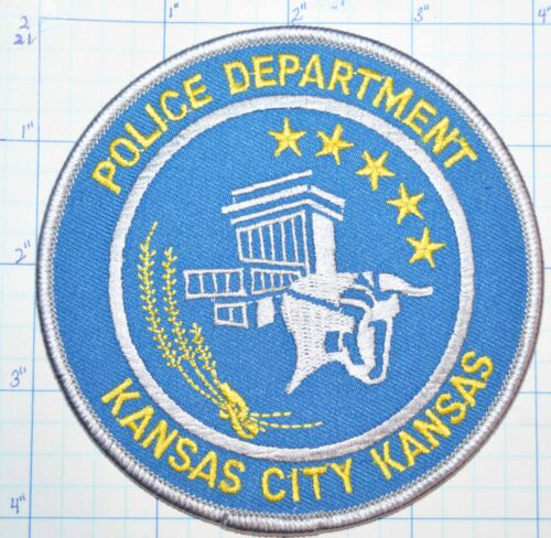 KANSAS, KANSAS CITY POLICE DEPT PATCH