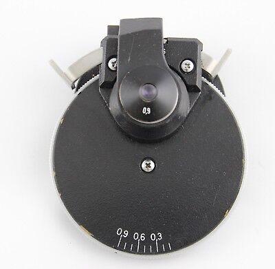 Zeiss Axioskop 0.9 Phase Condenser 445236 Ph1 Ph2 Ph3 Microscope