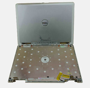 For NEW DELL Inspiron 6000 Series Laptop Silver Rear Cover Top Lid & Hinges