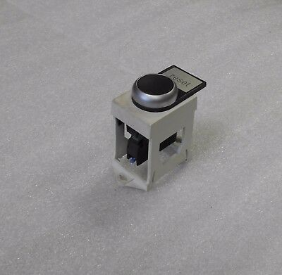 Klockner Moeller M22-CK10 Contact Block, Black Push Button, Used, Warranty