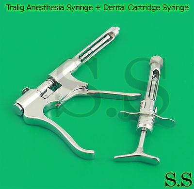 Tralig Anesthesia Syringe Dental Cartridge Syringe Dental Instruments
