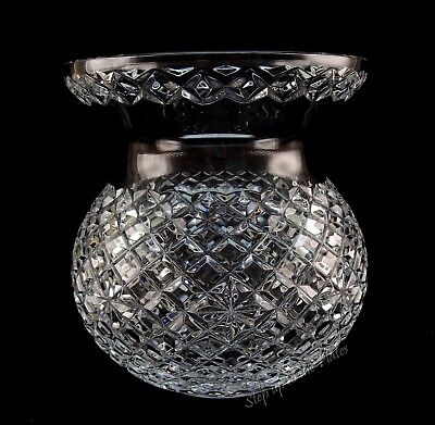 Waterford Crystal Large CORSET Bouquet Vase 9