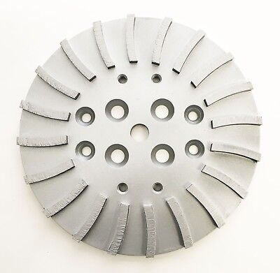 New 10 Supreme Turbo Concrete Grinding Head Plate For Floor Grinders- The Best