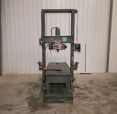 13137 Dake 50 Ton Moveable Frame Press Model 19-175