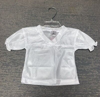 Girls 3T Ruffled White Halloween Costume Dress Up Football Spirit Jersey NWT - Football Jersey Dress Halloween Costume