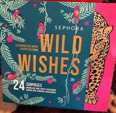 New SEPHORA WILD WISHES 24 Days Beauty Countdown Advent Calendar 2020 - RARE HTF