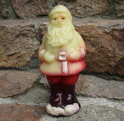 Vintage Santa Claus Christmas candle