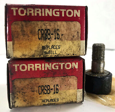 2 New Torrington Crsb-16 Roller Bearings Nib Make Offer