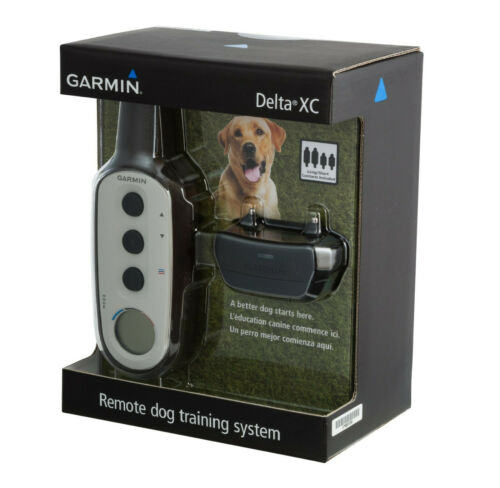 Garmin Delta XC Dog Training Collar Bundle 3/4 Mile, Full Box Sealed