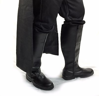 Black Jedi Boots Kylo Ren Imperial  Vader Luke Skywalker Darth Maul PREORDER