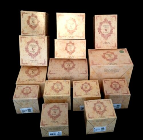 Xmas Gifts ! Clearance Boyds Dolls Figurines 14 Box Lot New in Original Boxes.