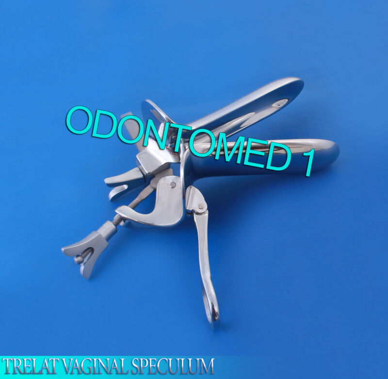TRELAT VAGINAL SPECULUM LARGE SURGICAL GYNO INSTRUMENTS