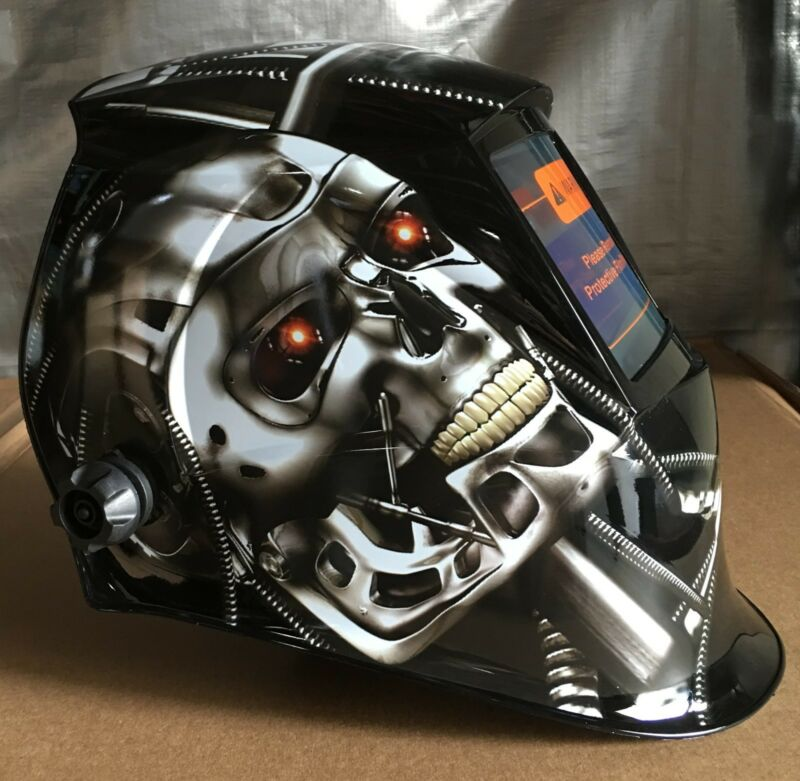MSL WELDING HELMET AUTO DARKENING MIG TIG ARC Mask cheater-lens-ready