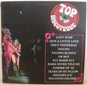 LP TOP OF THE DISCOTEQUE Artisti Vari Anni '80 Vinyl EX - Italia - LP TOP OF THE DISCOTEQUE Artisti Vari Anni '80 Vinyl EX - Italia