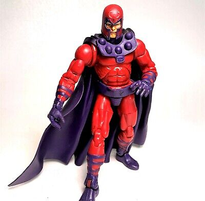 Marvel Legends Series 3 Magneto Action Figure With Helmet Toybiz 2003 X-Men