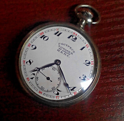Railway USSR GOSTREST TOCHMECH NKPS Hy Moser & Cie movement 1929h 15 ruby jewels