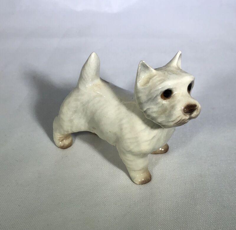 Vintage Westie Dog Figurine