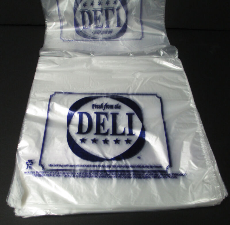 "Deli Bags 10"" x 8.5"" Flip Lip Saddle Bags - Case of 2000 - Kuki Collection"