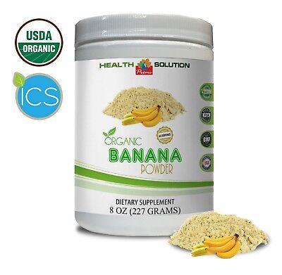 Diet Banana - probiotic fruit powder, ORGANIC Banana Powder(8oz 65 servings), potassium diet